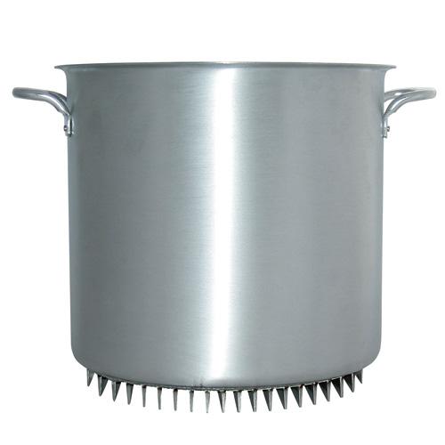 【送料無料】杉山金属 エコライン 寸胴鍋 蓋無し 42cm 56L
