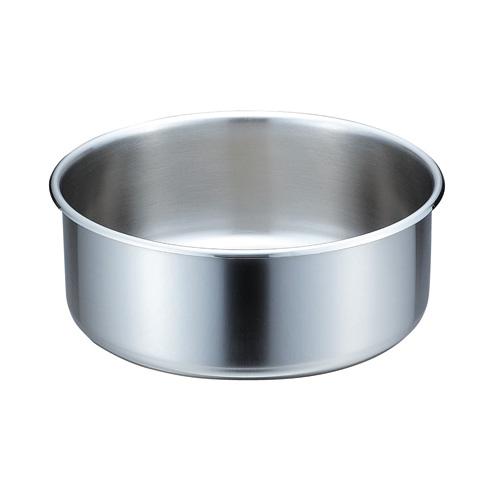 【送料無料】ビュッフェ用中華鍋湯煎鍋 浅型 30cm用