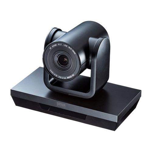 【送料無料】サンワサプライ 3倍ズーム搭載会議用カメラ CMS-V50BK