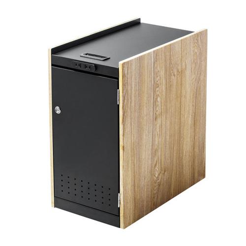 【送料無料】サンワサプライ 鍵付きカバン収納ボックス ブラック WG-TWBOX1LM