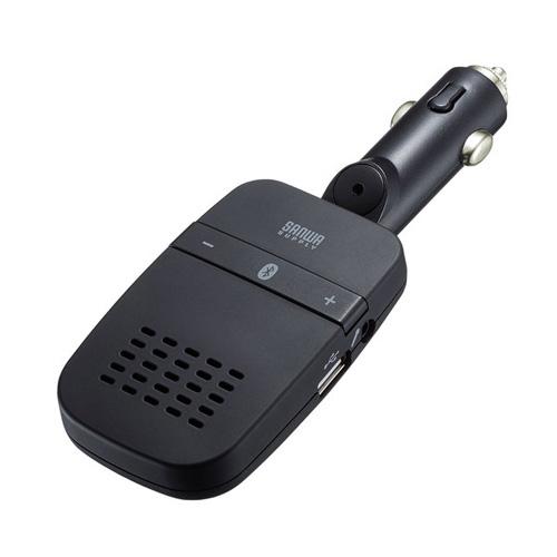 送料無料 追加で何個買っても同梱0円 サンワサプライ 海外 Bluetoothハンズフリーカーキット 新商品 新型 MM-BTCAR4