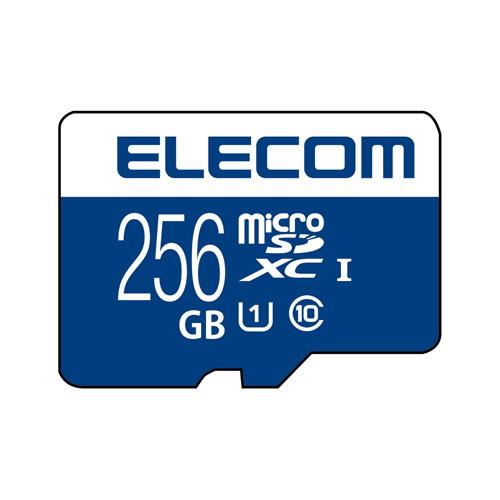 最新 送料無料 追加で何個買っても同梱0円 エレコム ELECOM マイクロSD カード 激安卸販売新品 UHS-I SD変換アダプタ付 256GB データ復旧サービス U1 MF-MS256GU11R