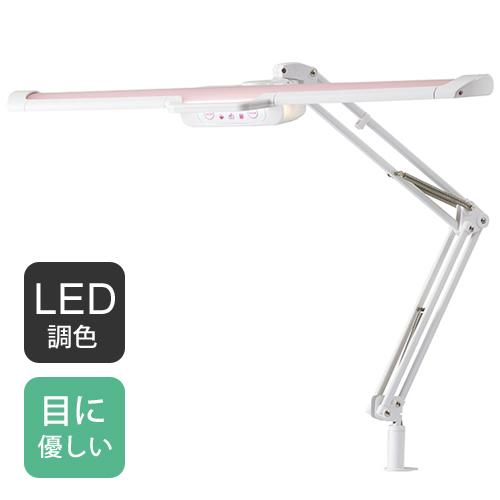 【送料無料】コイズミファニテック エコレディ LEDモードパイロットスリムアームライト ピンク ECL-358