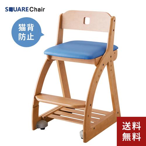 【送料無料】コイズミファニテック 木製チェア KDC-198NSPB 【木製ラブリーチェア イス 学習椅子】