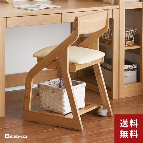 【送料無料】コイズミファニテック 木製チェア ビーノ BDC-37NSIV ▲▲【BEENO イス 学習椅子】
