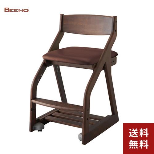 【送料無料】コイズミファニテック 木製チェア ビーノ BDC-40WTDB ▲▲【BEENO イス 学習椅子】