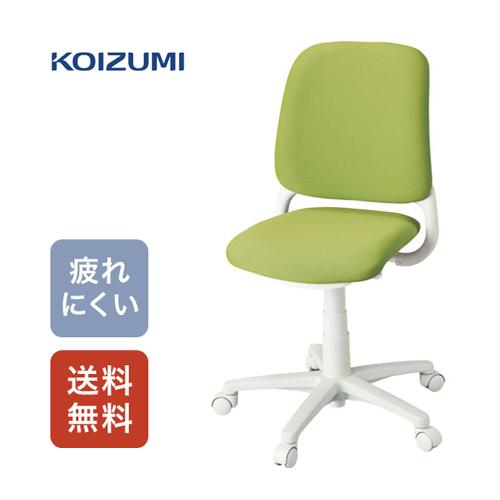 【送料無料】コイズミ 回転チェア カデット グリーン HSC-742 GR 【デスクチェア イス 椅子 オフィス 買い替え】