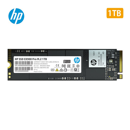 【送料無料】HP SSD M.2 EX900 Proシリーズ 1TB NVMe 1.3/ 3D TLC 9XL77AA#UUF:mono