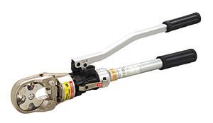 【送料無料】ジェフコム 手動式油圧圧着工具 DCH-150EN