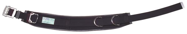 【送料無料】ジェフコム 柱上安全帯用ベルト カーブタイプ DB-R96DS-BK