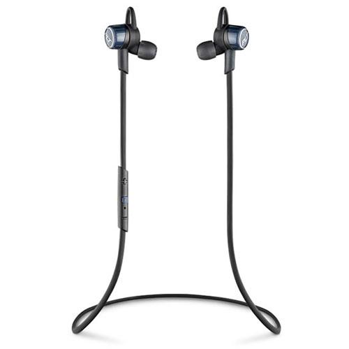 【送料無料】Plantronics Bluetooth ステレオヘッドセット BackBeat GO 3 コバルトブラック 充電ケース付 BACKBEATGO3-CB-C