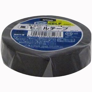 3980円 税込 以上で送料無料 追加で何個買っても同梱0円 ニトムズ 日東 即出荷 ビニールテープ いつでも送料無料 黒 プロセルフ J2527 No.21 19mm×20m