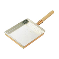 【送料無料】丸新銅器 SA銅 玉子焼 関西型 27cm 0499200