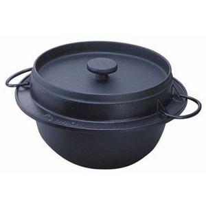 【送料無料】岩鋳 鋳鉄ごはん鍋 21-086 (5合炊) GGH0103