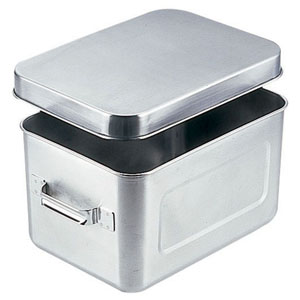 【送料無料】18-8保温・保冷バット マイルドボックス サラダ用 7l(蓋付)004 ABTA9