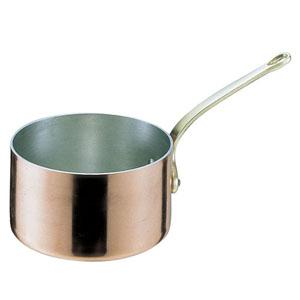 丸新銅器 SAエトール銅 片手深型鍋 18cm AKT06018