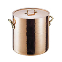 【送料無料】丸新銅器 SAエトール銅 寸胴鍋 24cm AZV05024
