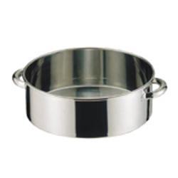 【送料無料】SA18-8 手付洗桶 45cm AAL04045