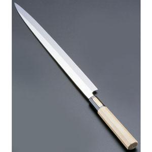 【送料無料】SA佐文 本焼鏡面仕上 ふぐ引 木製サヤ 27cm ASB53027
