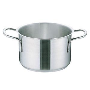 【送料無料】ムラノ インダクション18-8半寸胴鍋 (蓋無)50cm AHVA309