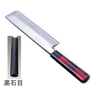【送料無料】歌舞伎調和庖丁 忠舟 薄刃 21cm 黒石目 ATD0308