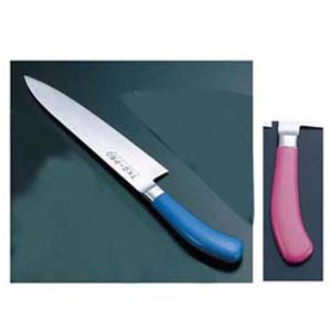 送料無料 追加で何個買っても同梱0円 セットアップ エコクリーン TKG PRO 21cm 再再販 AEK4806 カラー牛刀 ピンク