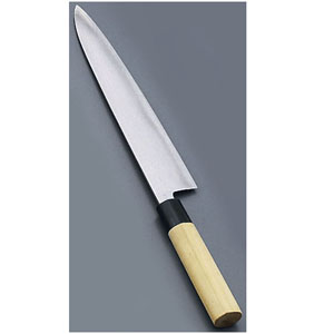 【送料無料】堺實光 匠練銀三 和牛刀(両刃) 27cm 37636 AZT4304