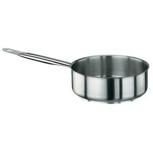 【送料無料】パデルノ 18-10片手浅型鍋 (蓋無) 1008-28 6265000