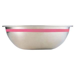 【送料無料】藤井器物製作所 SA18-8カラーライン ボール 55cm ピンク ABC8857