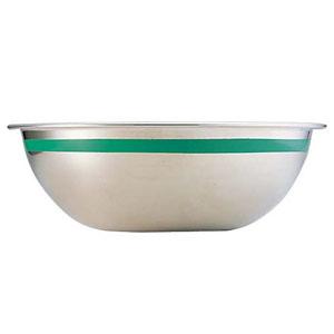 【送料無料】藤井器物製作所 SA18-8カラーライン ボール 55cm グリーン ABC8860