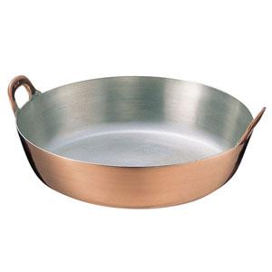 送料無料 追加で何個買っても同梱0円 丸新銅器 期間限定特価品 国内正規品 SA AAG08033 33cm 揚鍋 銅