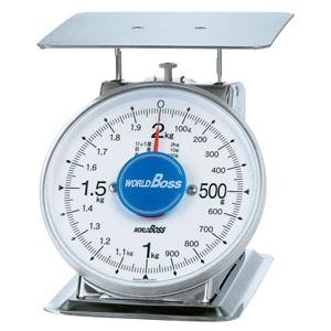 【送料無料】サビないステンレス上皿秤 SA-500S 500g BHK8801