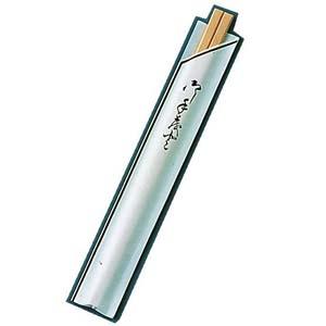 【送料無料】割箸袋入 茶線 白樺元禄 20.5cm (1ケース100膳×40入) XHSA0【smtb-u】