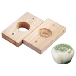 【送料無料】手彫物相型(上生菓子用) 蓮葉 WBT20