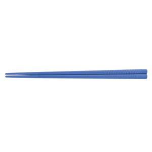 【送料無料】関東プラスチック工業 PETすべり止め付彫刻入箸(100膳入) PT-215 ブルー RHS96031【smtb-u】