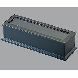 マイン 木製 箸箱 ブラック(楊枝入付) M40-905 PHS98