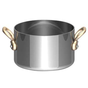 UK18-8プチ半寸胴鍋(蓋無) 8cm PPT8601