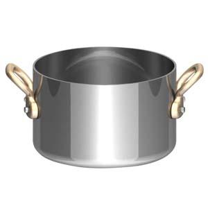 UK18-8プチ半寸胴鍋(蓋無) 9cm PPT8602