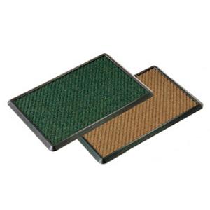 【送料無料】山崎産業 消毒マットセット 900×1200 緑 KMT2301