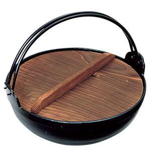 【送料無料】アルミ電磁用いろり鍋 30cm QIL07030