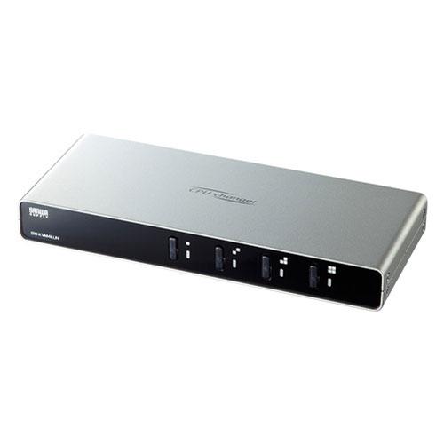 【送料無料】サンワサプライ パソコン自動切替器 4:1 SW-KVM4LUN【smtb-u】
