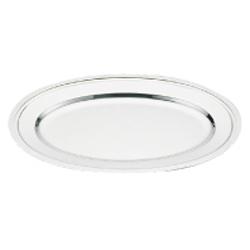 【送料無料】和田助製作所 SW18-8モンテリー小判皿 (魚皿兼用)40インチ NKB18040