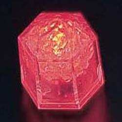 【送料無料】ライトキューブ・クリスタル 標準輝度 (24個入) レッド PLI4301