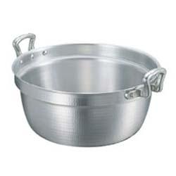 【送料無料】アルミ キング 打出 料理鍋(目盛付)45cm 0137900