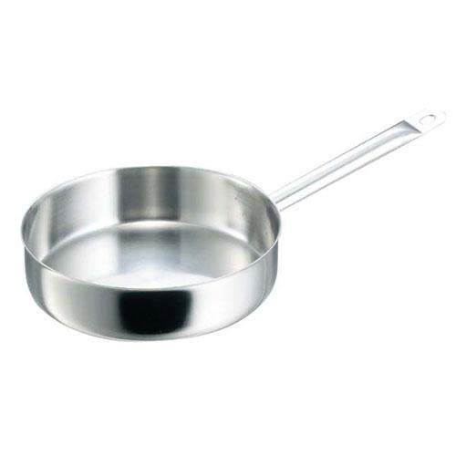 【送料無料】デバイヤー イノックス 三重底 浅型片手鍋 蓋無 3467-32 6259900