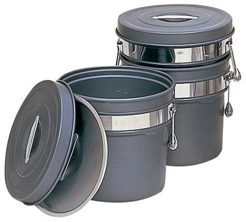 【送料無料】段付二重食缶(内外超硬質ハードコート) 250-H(16l) ASY58250:mono