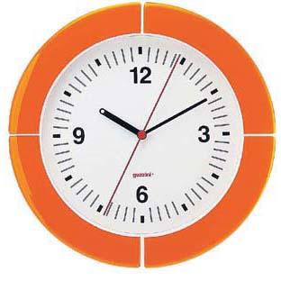 【送料無料】guzzini グッチーニ ウォールクロック 2895.0045 オレンジ RGTE404【smtb-u】