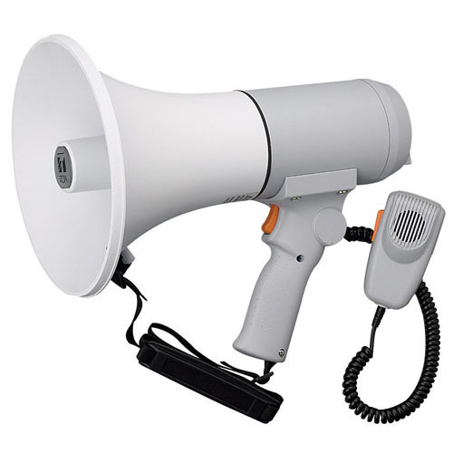 【送料無料】ハンドル付ショルダーメガホン 15W ER-3115 ZMG1401