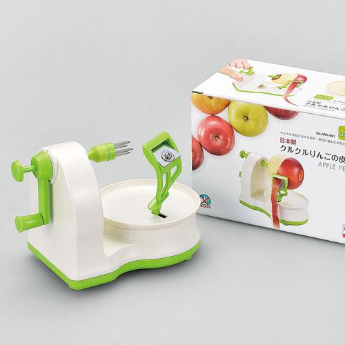 3980円 税込 以上で送料無料 追加で何個買っても同梱0円 下村工業 6264101 タイムセール ランキング総合1位 味わい食房 日本製くるくるリンゴの皮むき器 ARK-691
