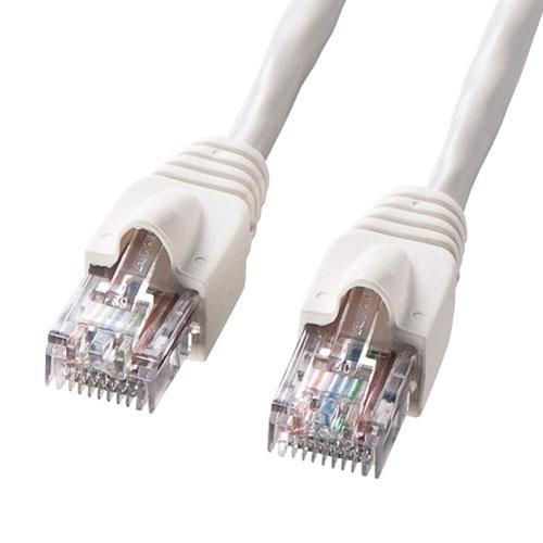 【送料無料】サンワサプライ UTPエンハンスドカテゴリ5ハイグレード単線ケーブル(90m・ホワイト) KB-10T5-90N